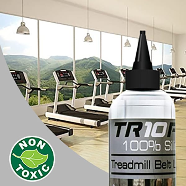 250ml silicone treadmill lubricant oil - premium quality - quick and easy to use lubricant with a handy applicator - life extension for all treadmills! Keep your treadmill quiet and supple!