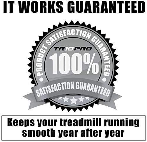 100% risk free puchase - keeps your treadmill running smooth year after year - it works guaranteed - TR10 Pro 5ltr
