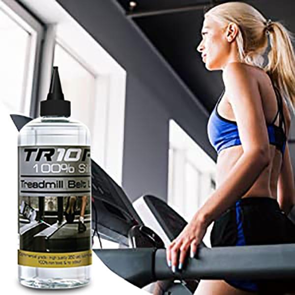 make treadmills run silently, no more squeaking or noice, use premium TR10 PRO Silicone Treadmill Lubricant Oil 750ml