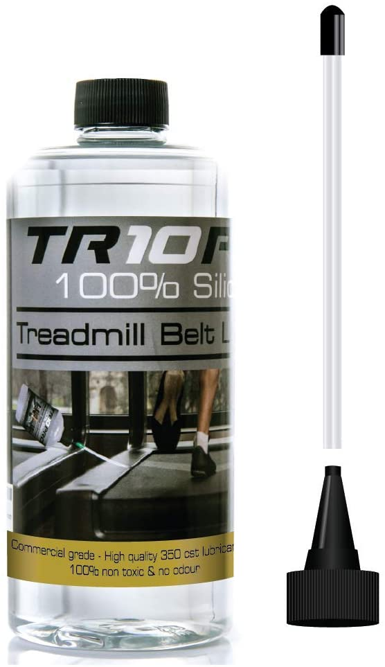750ml silicone treadmill lubricant oil - premium quality - quick and easy to use lubricant with a handy applicator - life extension for all treadmills! Keep your treadmill quiet and supple!