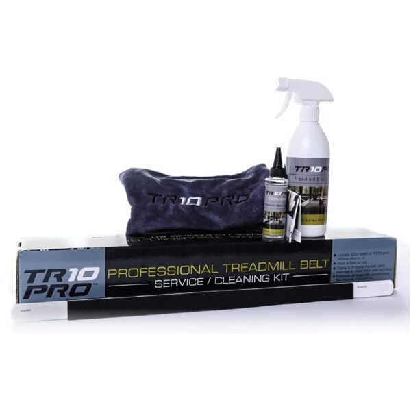 Easiest, Odourless, Mess-Free Application   With TR10PRO Fitness Lubricant you're in control. Patented precision workout equipment lubricator system eliminates the dirt, grime and grease in all the right places, providing superior control for mess-free, waste-free lubrication without the sticky mess, funky odors or headache of hardware store maintenance tools.